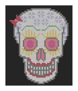 Back Pages from Candy Skull Woman