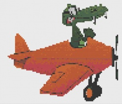 Macintosh HD:Users:Fiona:Documents:Bits and bobs:embroidery:Orange Gator Plane.chart