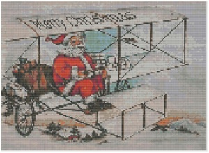 Pages from Santa in Biplane