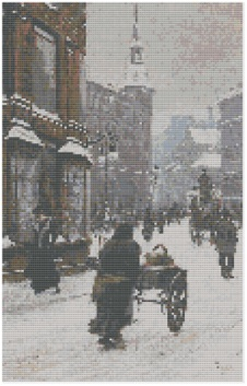 Pages from Street Scene in Winter