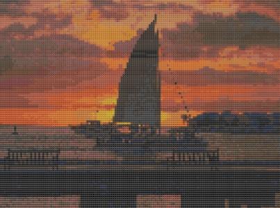 Macintosh HD:Users:Fiona:Documents:florashell:sailing boat at sunset:Sailing Boat at Sunset.chart