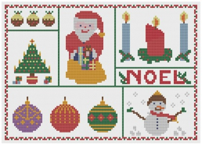 back Pages from Christmas Squares